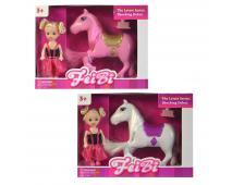 Koník s bábikou