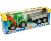 Mini compact - traktor s prívesom