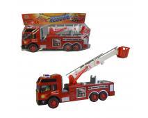 Auto hasičské na zotrvačník, 30cm