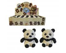 Panda softová, 8 cm, 24 ks v boxe