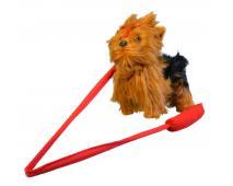 Pes Yorkshir, šteká, chodí, 30cm
