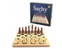 Drevené šachy 21x21cm