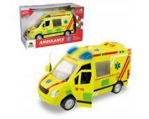 Ambulancia na zotr.s reálným hlasom