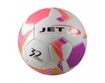 Lopta fotbalová,bielofialová, veľkosť 5
