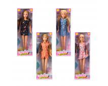 Bábika v letných šatách, 4 druhy 29cm