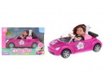 Bábika s autíčkom