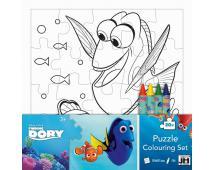 Puzzle vymaľovanky - Hľadá sa Dory