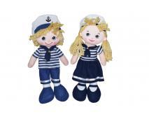 Handrová bábika námorník 30cm