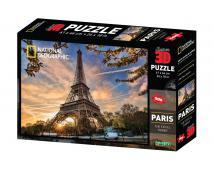 3D Puzzle Paríž 500