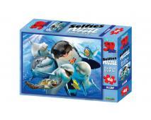 3D Puzzle Podmorský svet 48 dielov