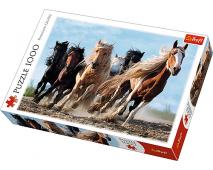 Puzzle 1000 Cválajúce kone