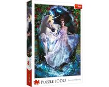 Puzzle 1000 Jednorožec s vílou