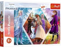 Puzzle 200 Frozen 2 Sestry