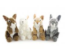 Plyš Zajac sediaci 13x23 cm