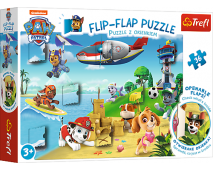 Puzzle 36 Flip-flap Paw Patrol