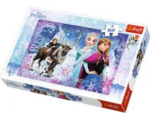 Puzzle 160 Frozen - zimné dobrodruž.