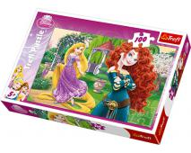 Puzzle 100 princezné bojovnice