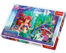 Puzzle 100 princezné - Ariel