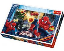 Puzzle 100 Spiderman - únik