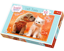 Puzzle 100 Sweet a Lovely Bozky