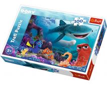 Puzzle 100 Hľadá sa Dory