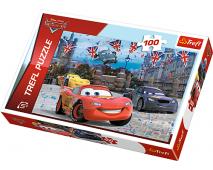 Puzzle 100 Disney Cars 2