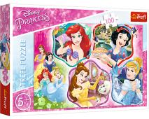 Puzzle 100 Princezne