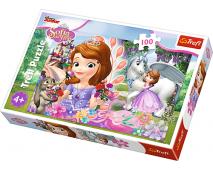 Puzzle 100 Disney Sofia prvá