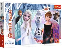 Puzzle 100 Frozen 2