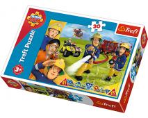 Puzzle 30 Požiarnik Sam