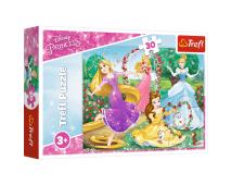 Puzzle 30 Disney Princezny