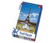 Puzzle 2000 Eiffelova veža