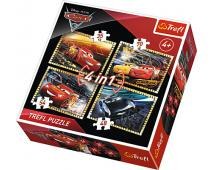 Puzzle 4v1 Cars 3