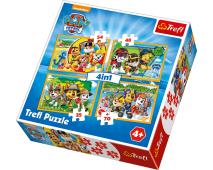 Puzzle 4v1 Paw Patrol