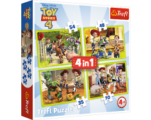 Puzzle 4v1Toy Story