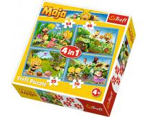 Puzzle 4v1 Včielka Maja