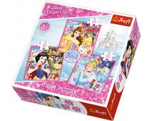 Puzzle 3v1 Princezny