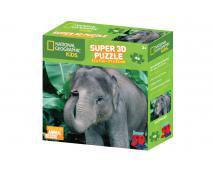 3D puzzle Slon 48 dielov