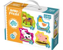 Puzzle Baby Classic Zvieratá na farme