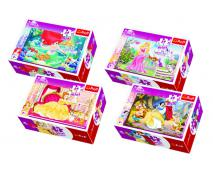 Puzzle 54 mini princezná
