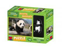3D Puzzle Panda 100 + figurka