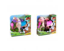 Kôň česací 15cm s přísluš. 2 farby