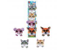 Plyšové mačky 4ks