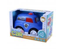 Auto polícia veselé v krabici
