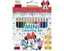 Blok s pastelkami - Minnie