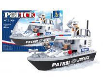 Stavebnica policajná loď 83 ks