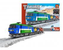 Stavebnica vlak nákladný 573 ks