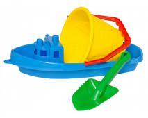 Set do piesku s loďkou 40x20cm