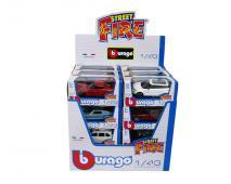 Burago 1:43 Street Fire 24ks v dbx