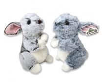 Plyšový zajac sediaci 23cm